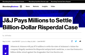 Risperdal Lawsuit Settlement